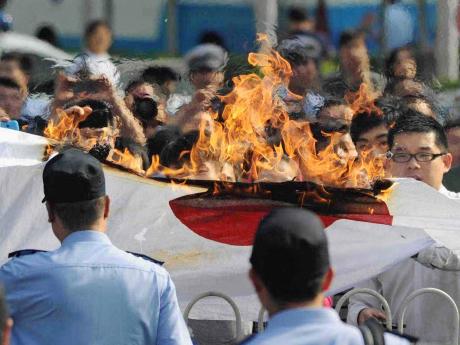 反日という憎悪が渦巻く世界から、対立と衝突が起きてくる