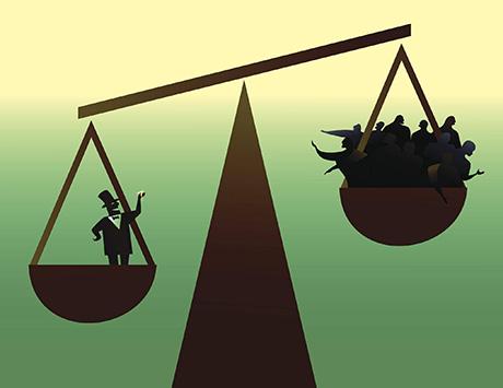 巨大格差の中で、富裕層は貧困層に対して常に100戦無敗だ