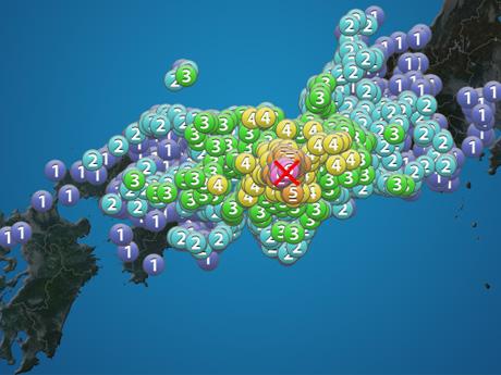 大阪の地震で「アベが起こした地震兵器」と言っている人間の下劣さ